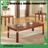 Jogo da tabela da sala de visitas da madeira de vidoeiro 3PCS