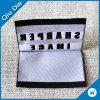 Ярлык верхнего качества сложенный центром сплетенный для вспомогательного оборудования одеяния