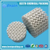 Embalaje estructurado de cerámica para aplicaciones de transferencia de calor y masa