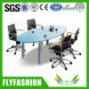 Tavolo di riunione di vetro di disegno moderno dell'ufficio (CT-24)