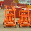 Hollow BlocksのためのQmr2-45 Eggs Machine Mini Mobile Block Machine