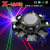 Luz laser del mini pulpo del RGB