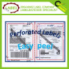 Corner redondo Shipping Blank Label para UPS Federal Express Paypal de Usps