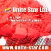 Rojo fluorescente ligero del pigmento del día para las capas a base de agua