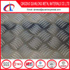 Plaques Checkered en aluminium d'alliage lumineux de fini avec la barre deux