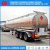 De la fábrica de la venta 42000L de gasolina del depósito del acoplado 42m3 de aluminio de la aleación de gasolina del depósito acoplado semi