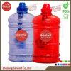 mini botella de agua del galón 2.2L, jarro de la botella de agua