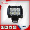 Ce/FCC/RoHS/IP68 4 '' camion de 18W Epistar/collecte/guide optique tous terrains de LED