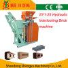 Hydraulic manuel Press Soil Lego Brick Making Machine pour la Russie