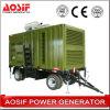 Комплект генератора 200kVA Aosif подвижной тепловозный (ATG)