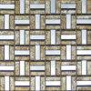 Mosaico di vetro dorato di arte (VMW3303)