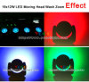 19X12W RGBW 4in1 LED Wash Zoom DJ Light Moving Head