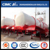 Cimc Huajun 20cbm Stainless Liquid Tanker Without Main Beam