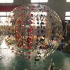 Bola inflable del PVC Zorb del parque del agua para el patio de la diversión