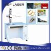 machine d'inscription de laser de fibre de cas d'iPhone de PVC de Plastis de boucle en métal de 20W 30W