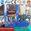 Personalizado! Máquina de rolamento simétrica hidráulica da placa de três rolos Mclw11nc-25*500, máquina de dobra