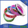 Wristband impresso del silicone di Debossed stampato gomma di modo