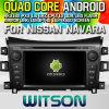 Rk3188 쿼드 코어 HD 1024X600 스크린 16GB 저속한 1080P WiFi 3G 정면 DVR DVB-T Mirro (W2-M716)를 가진 닛산 Navara를 위한 Witson S160 차 DVD GPS