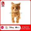 En71によって渡されるぬいぐるみのおもちゃのプラシ天の柔らかいトラ猫
