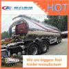 半アルミ合金の燃料のタンカーの/Liquid /Petrolタンクトレーラー