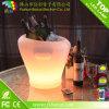 現代屋外の再充電可能なRGB LEDのワインクーラー