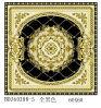 Fábrica del azulejo Polished 300X300 del cristal con oro en Guangxi (BDJ60288-5)