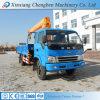 Mini grue montée de 8 tonnes par camion hydraulique