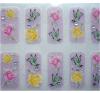 Симпатичные стикеры ногтя стикеров искусствоа ногтя яркия блеска 3D