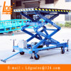 малые гидровлические 1000kg Scissor воздушная платформа (SJY1-2.1)
