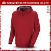A forma Burgendy na moda projeta os homens de Hoodies Dor (ELTHI-4)