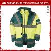 冬の機械工の炎-抑制安全黄色の反射Workwear (ELTHJC-438)