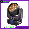 Zoom 19X12W feixe Moving Head LED Luz de Palco
