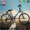 bicicleta elétrica da estrada de cidade de Ebike da bateria de lítio 250W para a mulher