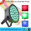 RGB Lichte Tri LEIDENE 36PCS*3W HOOFD van de Partij PARI kan Fabriek Guangzhou