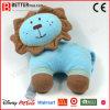 Juguete de la felpa del león del bebé del animal relleno para los cabritos del bebé