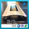 L'obturateur de rouleau plient s'enrouler avec le profil en aluminium en aluminium de trou de poinçon