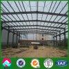 Almacén de la estructura de acero con el revestimiento de la hoja de acero (XGZ-SSW 487)