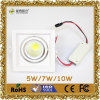 7W DEL Downlight avec CE&RoHS