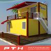 Casa prefabricada del envase de las Dos-Historias de lujo para el hotel/el apartamento
