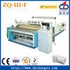 Machine de papier hygiénique de règlage de perforation de rebobinage de Zq-III-F