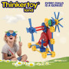 Machine di plastica Operation Gear Construction Block Toy per Boy