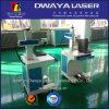 Máquina portable caliente de la marca del laser de la fibra de Dwaya