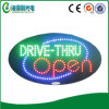 Heißes Sale Acrylic LED Dive Through Open Display Sign (hsd0042)