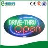 Горячая открытая выкладка Sign Sale Acrylic СИД Dive Through (hsd0042)