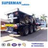 reboque portuário do caminhão do transporte de recipiente do uso de 40FT Semi