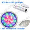Luz teledirigida de la piscina del alambre DC12V LED PAR56 de la baja tensión 4, bombilla del LED