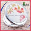 Do Portable de couro por atacado do plutônio da forma espelho Pocket pequeno conveniente da composição