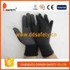 13 перчатки /Polyester датчика Nylon безшовных с миниыми многоточиями PVC (DKP418)