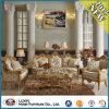 Sofà moderno del tessuto del salone di stile del Medio Oriente (LX-SFA057)