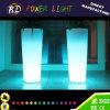 Usine en plastique extérieure de fleur des meubles RVB LED